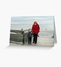 Day to the Zeeland Beach Greeting Card