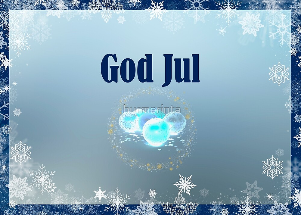 God Jul by hurmerinta