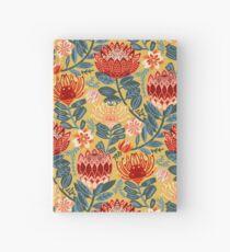 Protea Chintz - Mustard Hardcover Journal