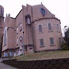 Deserted Church  by Charldia