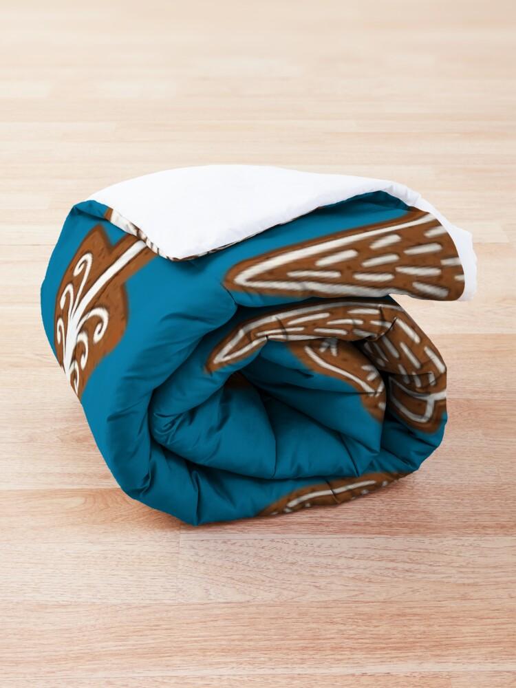 Alternate view of Christmas cookies Comforter
