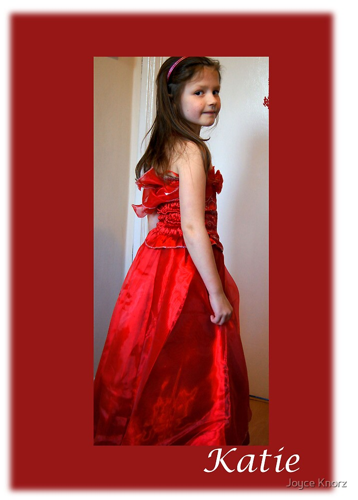 Katie our grandaughter by Joyce Knorz