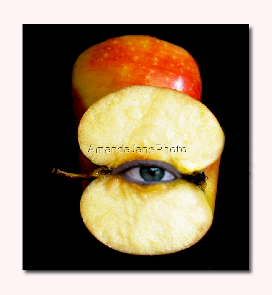 Apple Of My Eye by AmandaJanePhoto