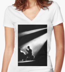 The Pianist Fitted V-Neck T-Shirt