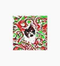 Gato Art Board Print