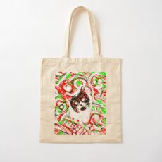 Gato Cotton Tote Bag