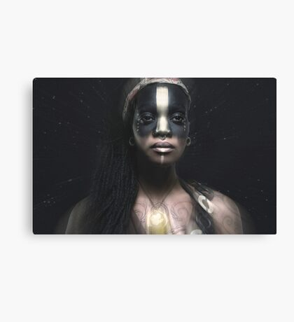 weary empress of the ancient cosmos Canvas Print