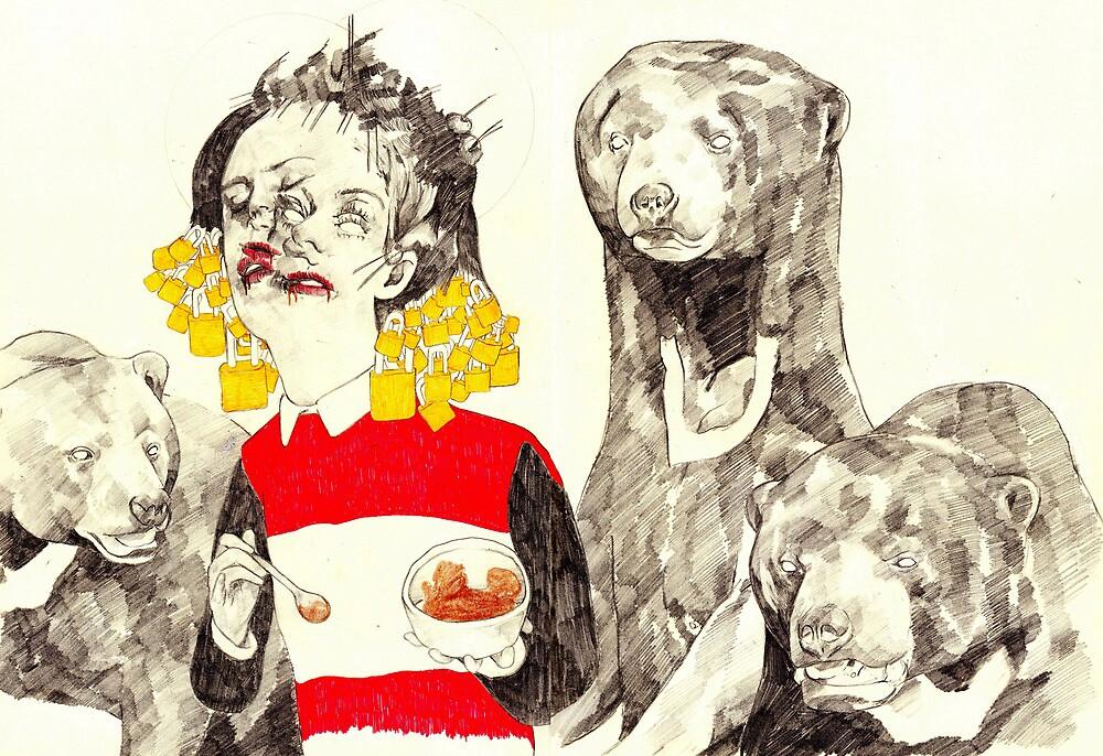 Goldilocks and The Three Bears by Ryan Humphrey