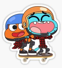 Gumball Darwin Skate Sticker