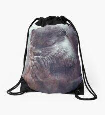 Meditierender Otter (farbig) Turnbeutel