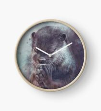 Holy Otter in space Uhr