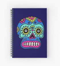 Mexican Skull Spiral Notebook