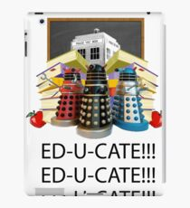 Educate not Exterminate  iPad Case/Skin