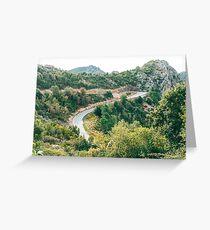 Gorges du Prunelli, Corsica - 2019 Greeting Card