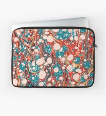 Psychedelic Marbled Paper Splash Blob Pepe Psyche Laptop Sleeve