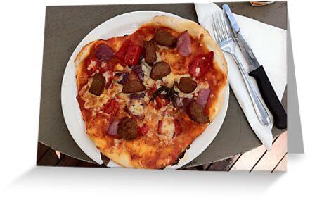 Pizza Salsiccia Festa by Team Bimbo
