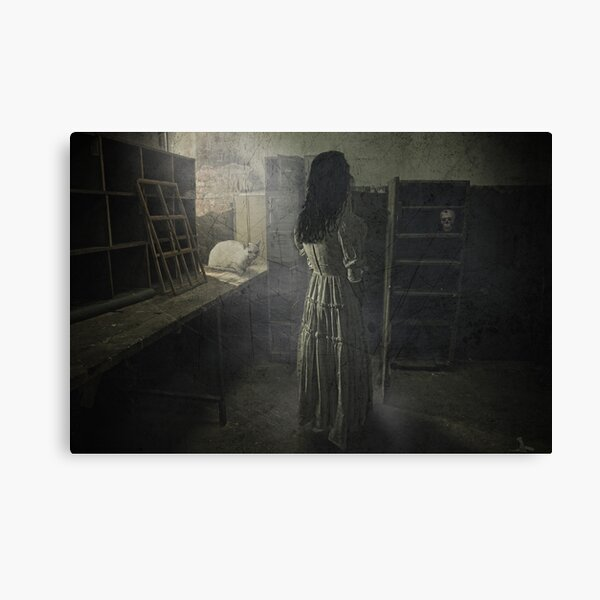 Scary places Canvas Print