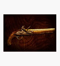 Gun - Flintlock Pistol  Photographic Print
