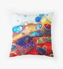 Burning Bubbles Floor Pillow