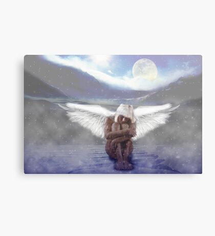 The Silence of Being Canvas Print