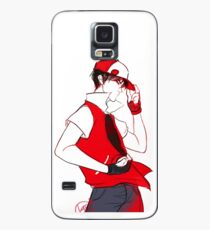Funda/vinilo para Samsung Galaxy Trainer Red
