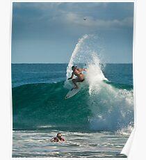 Carissa Moore - pre Roxy surfing Poster