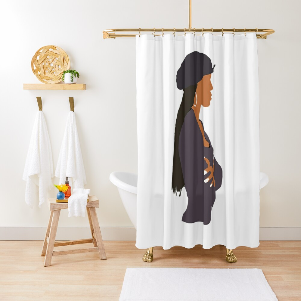 Brand New Janet Jackson - Poetic Justice Shower Curtain