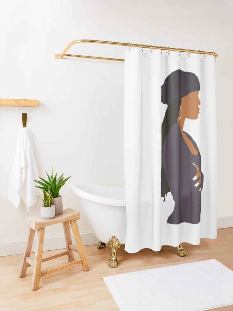 Alternate view of Brand New Janet Jackson - Poetic Justice Shower Curtain