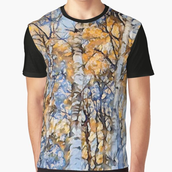 Autumn Birch Graphic T-Shirt