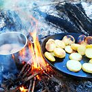 Campfire lunch by Ruth Tinley