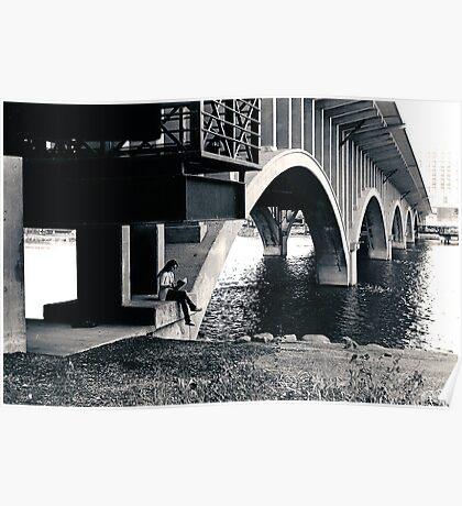 The Girl and the Bridge Poster