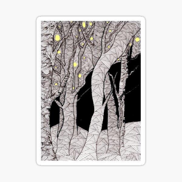 Nachtwald - Glaube und Wahrheit Sticker