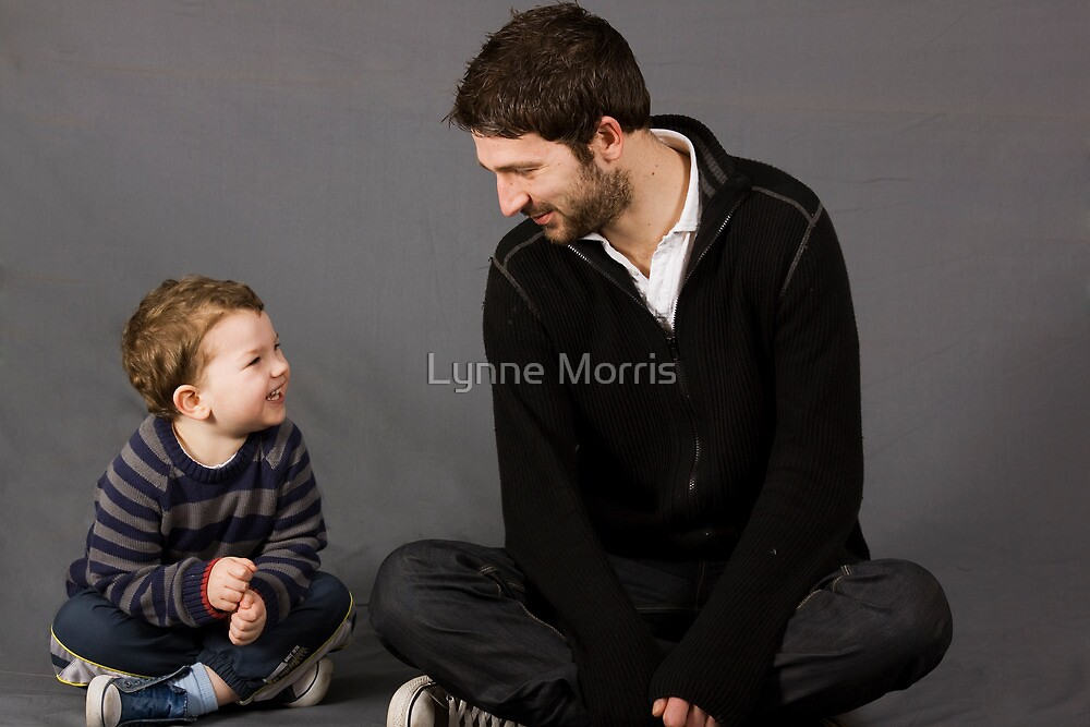 Father And Son Bonding by Lynne Morris