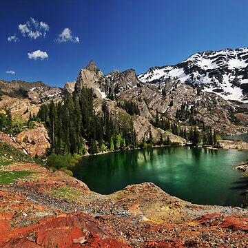 Lake Blanche, Utah, Summer by photoforyou