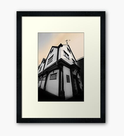 Old Cloth Hall - Newbury Framed Print