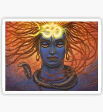 Shiva OM Sticker