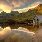 Cradle Mountain Boat Shed by Philip Greenwood