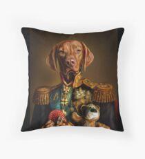 Bertie the Hungarian Vizsla Throw Pillow