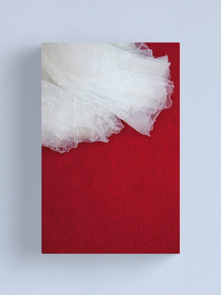 Alternate view of Wedding Dress Detail - Tres Canvas Print