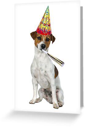 Jack Russell Terrier Birthday by CafePretzel