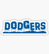 Dodgers Hollywood Sign Sticker
