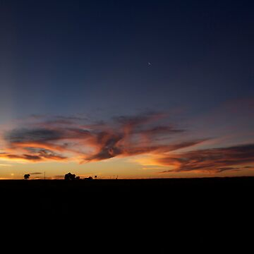 Crescent Moon * Ilfracombe Racecourse, Queensland by Dinkss