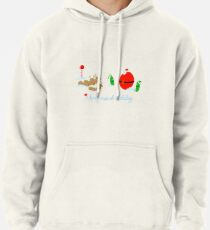 Merry-crobial Holiday Greetings Pullover Hoodie