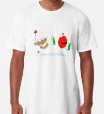 Merry-crobial Holiday Greetings Long T-Shirt