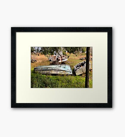 Death of a Fishermans Dream Framed Print
