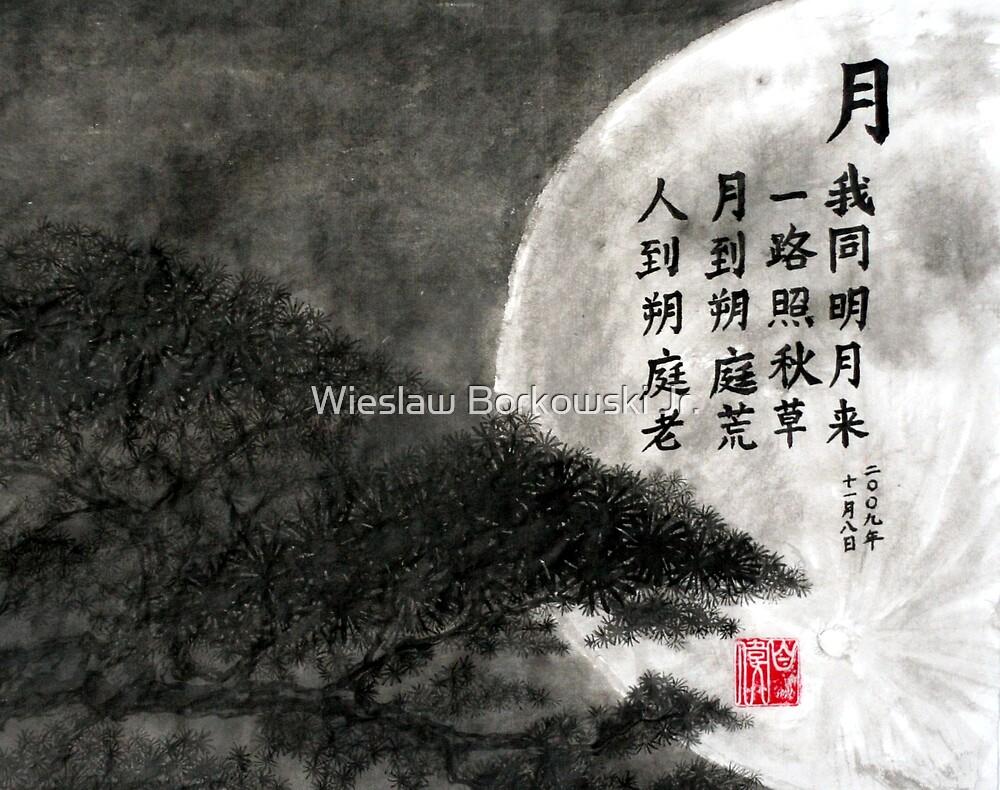 The Moon by Wieslaw Borkowski Jr.