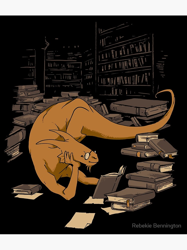 The Book Wyrm by rebekieb