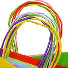 Colorful Shopping Bags by snehit