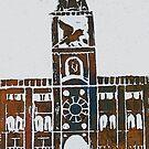 Clock Tower - Venice, Italy by Janys Hyde