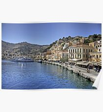 Symi Waterfront Poster